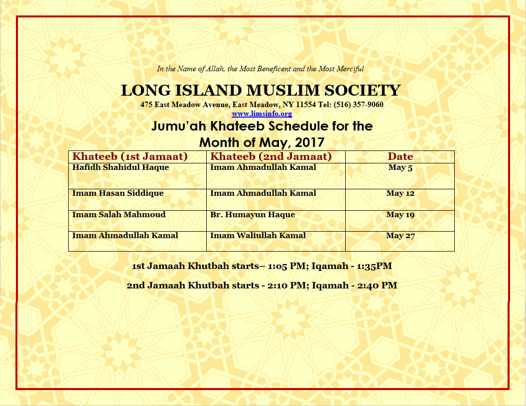 east meadow muslim Long island muslim society weekend children islamic school marriage services contact us lims 475 east meadow ave east meadow, ny 11554, usa email.