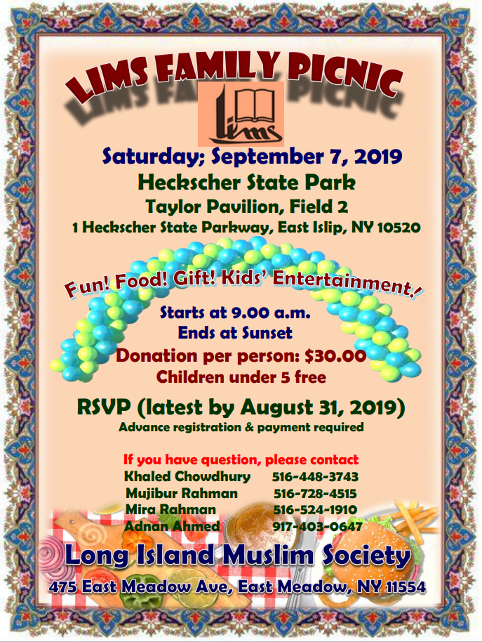 Long Island Muslim Society | LIMS